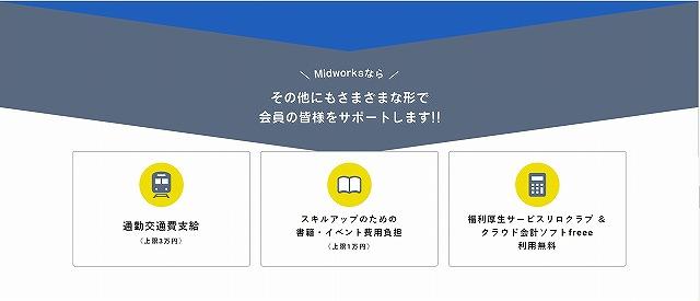Midworks_福利厚生紹介