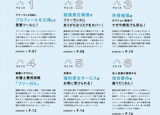 Midworks_福利厚生紹介_フリーランス協会ベネフィットプラン