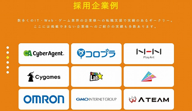 Geekly_採用企業例